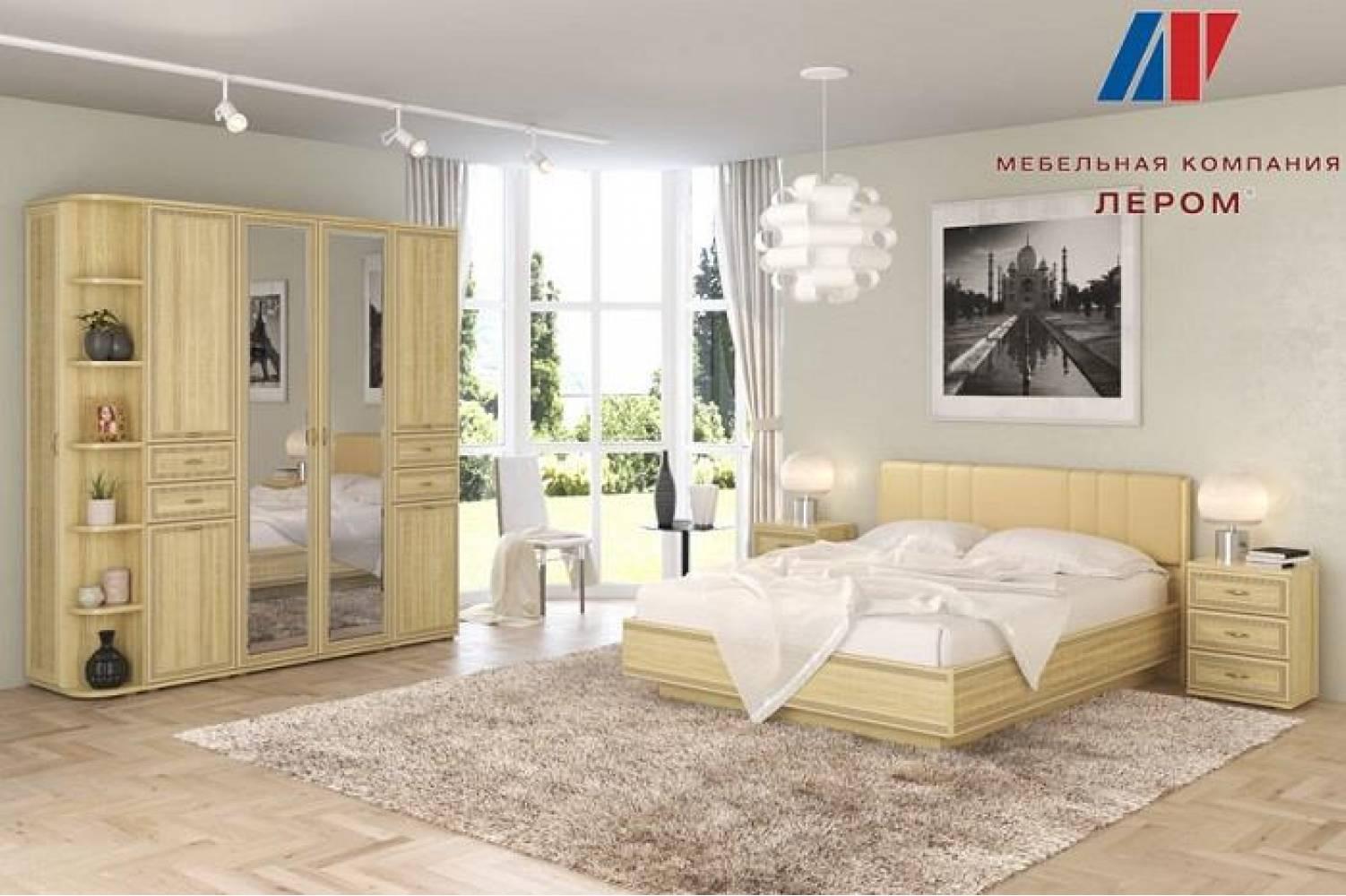 Спальня КАРИНА (Ясень Асахи) Лером