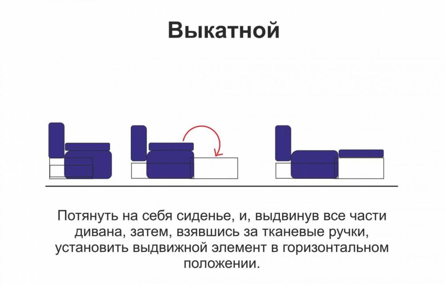 Диван - кровать ЕНИСЕЙ Олмеко
