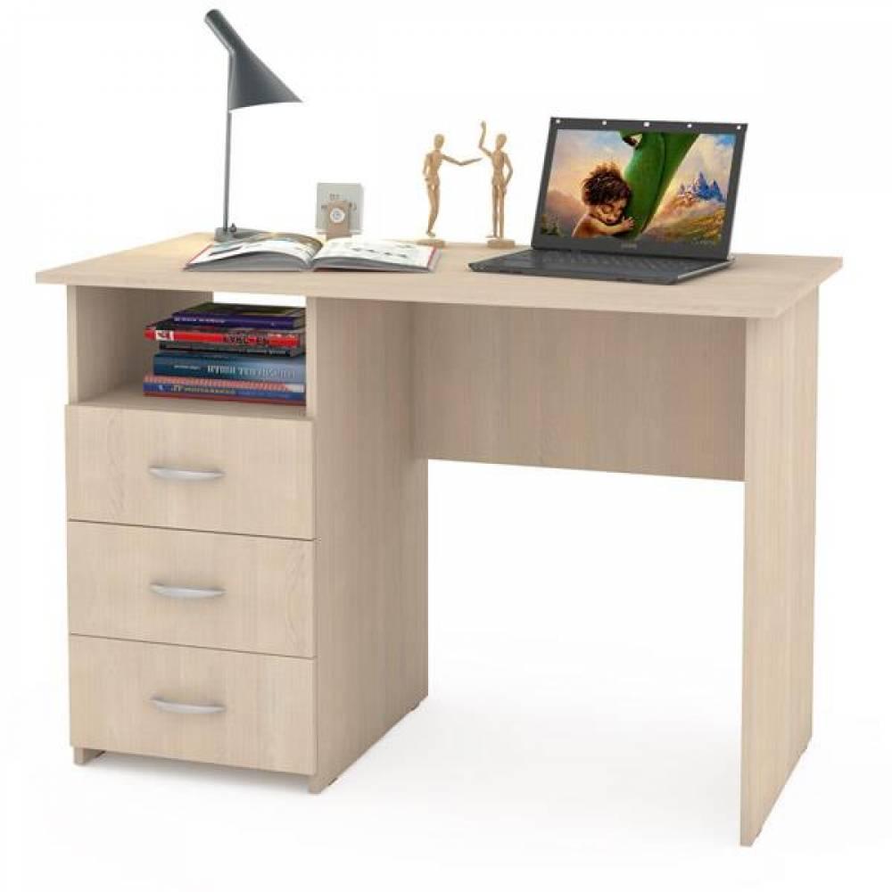 Компьютерный стол 10 СК КОМФОРТ (Дуб паллада) MOBI