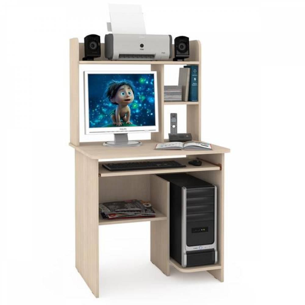 Компьютерный стол 3 КОМФОРТ (Дуб паллада) MOBI