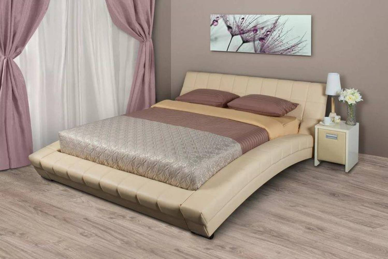Кровать 1600 с ортопедическим основанием ОЛИВИЯ (Гранд Натурель) Нижегородмебель