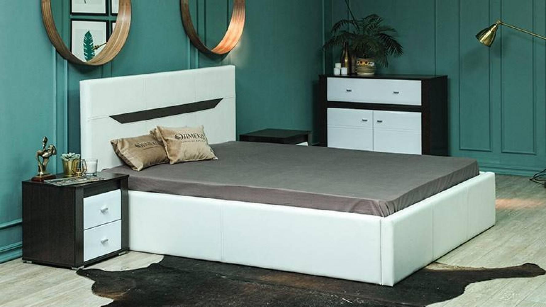 Кровать  ИОЛАНТА с подъемным механизмом Олмеко