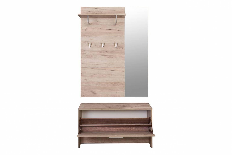 Шкаф комбинированный 08.42 ЛАЙТ (Дуб серый CRAFT) MOBI