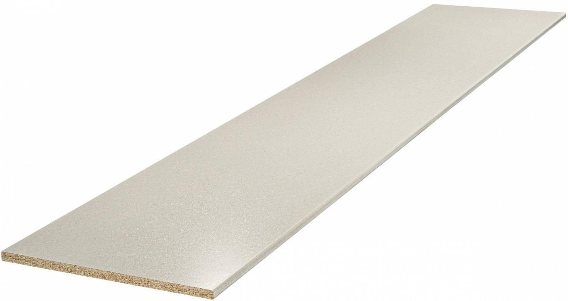 Столешница № 400 Б Бриллиант белый 26 мм Матовая Скиф, цена  за пог/метр