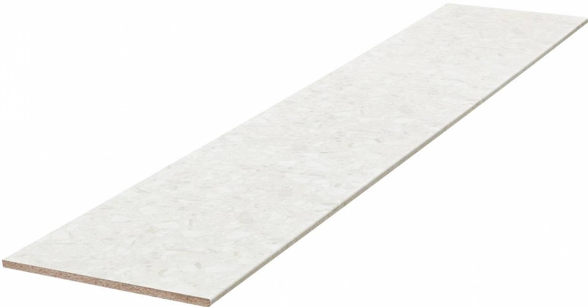 Стеновая панель № 228 Калаката (белые камешки) Матовая Скиф