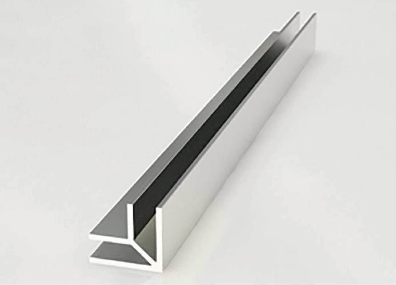 Планка угловая универсальная для стеновых панелей 6 мм ALDIO