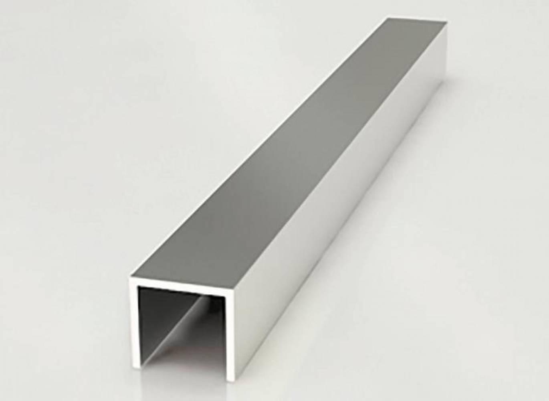 Планка торцевая для стеновых панелей 4 мм ALDIO