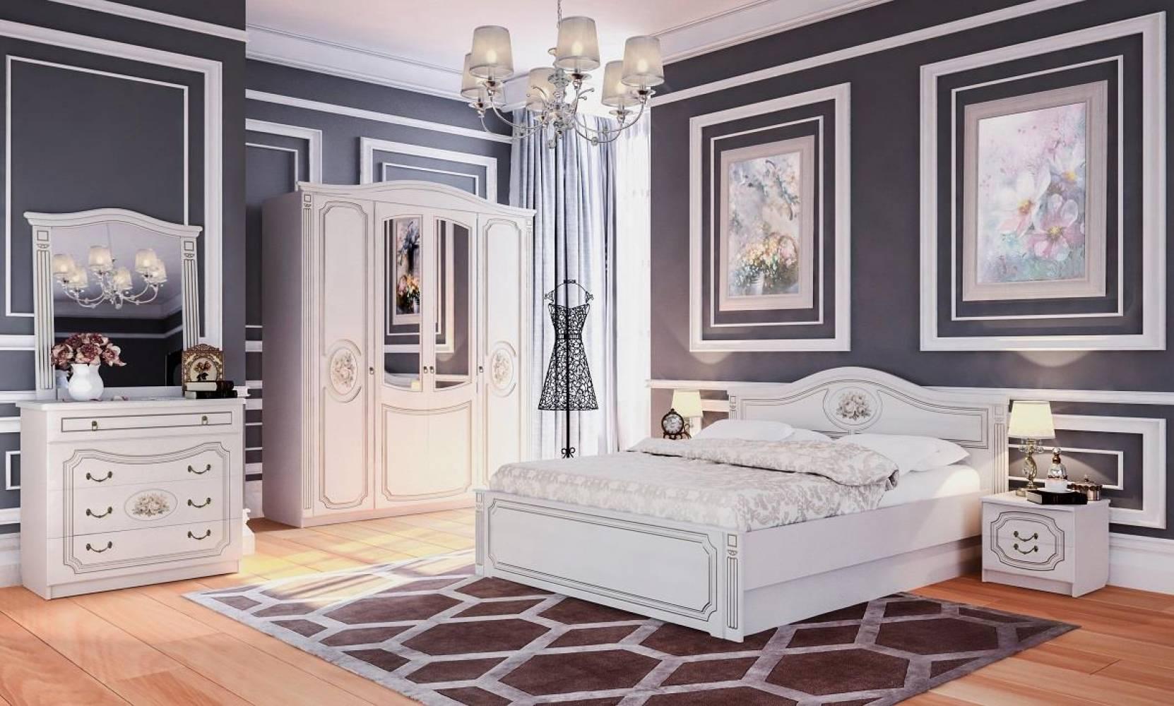 Спальня ВЕРОНА (Капучино/Кофе 10) Мебельград