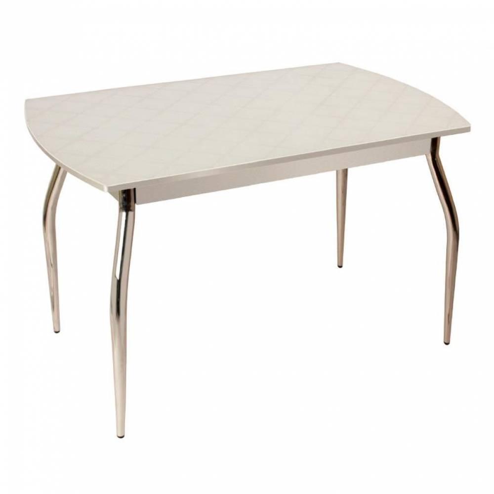 Стол обеденный раздвижной 5.4 mini фуджи белый