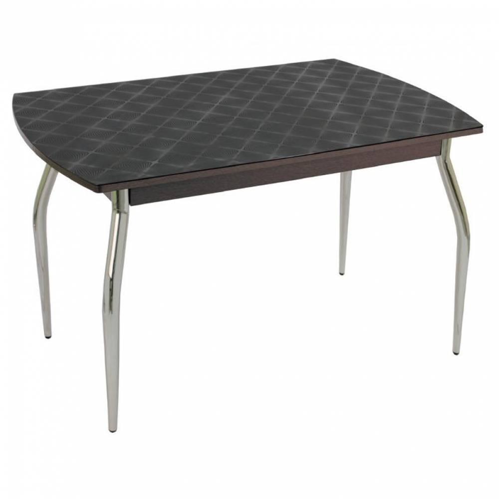 Стол обеденный раздвижной 5.4 mini фуджи черный