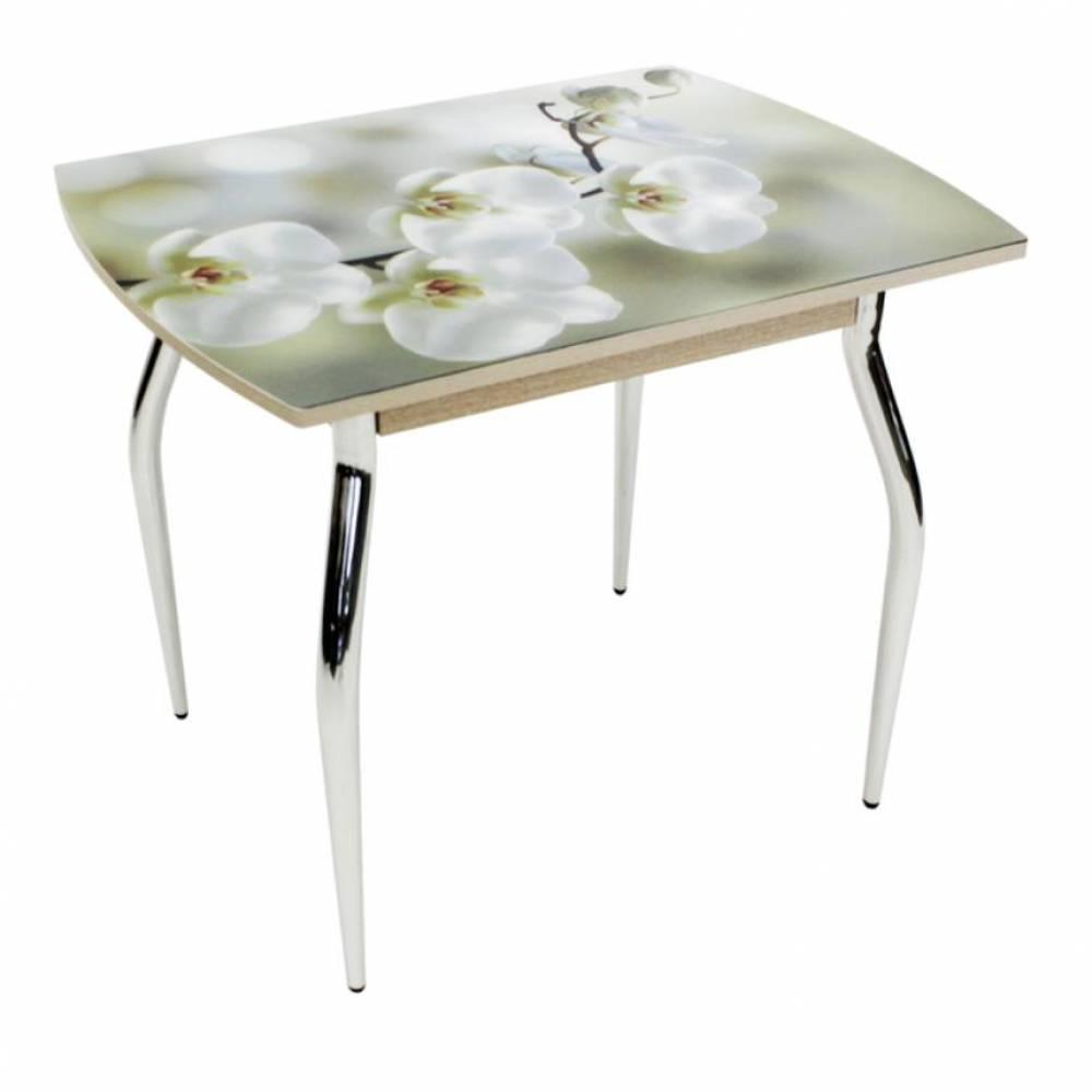Стол обеденный 5.1 mini Орхидея беленый дуб