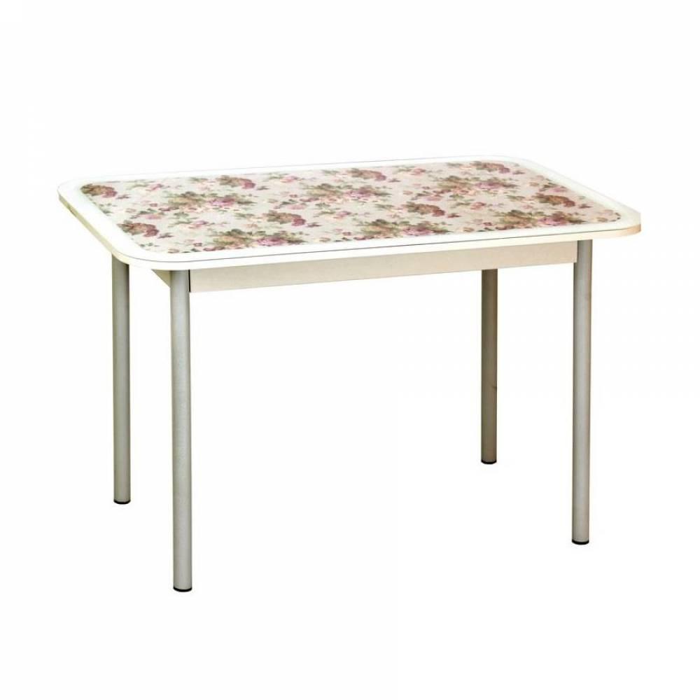 Стол обеденный СТИЛЬ 1 прованс/белый муар д.40