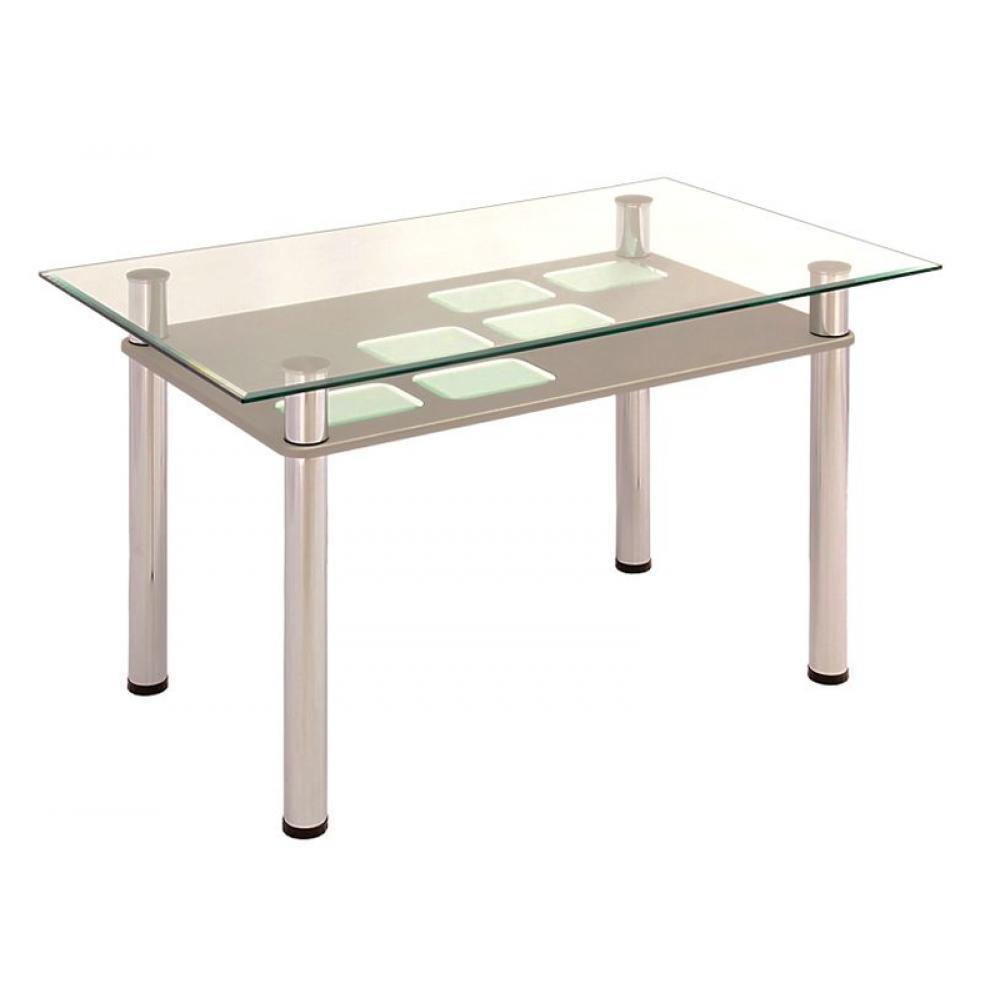 Стол обеденный с полкой МДФ 3.0 стальной гобилен зеркало