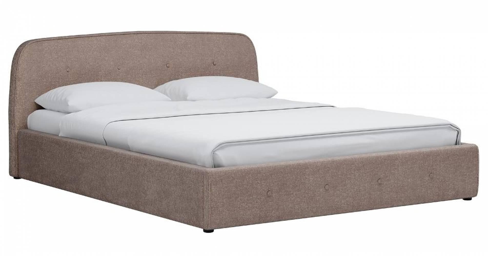 Кровать 1600 ИЛОНА (песочный) Нижегородмебель