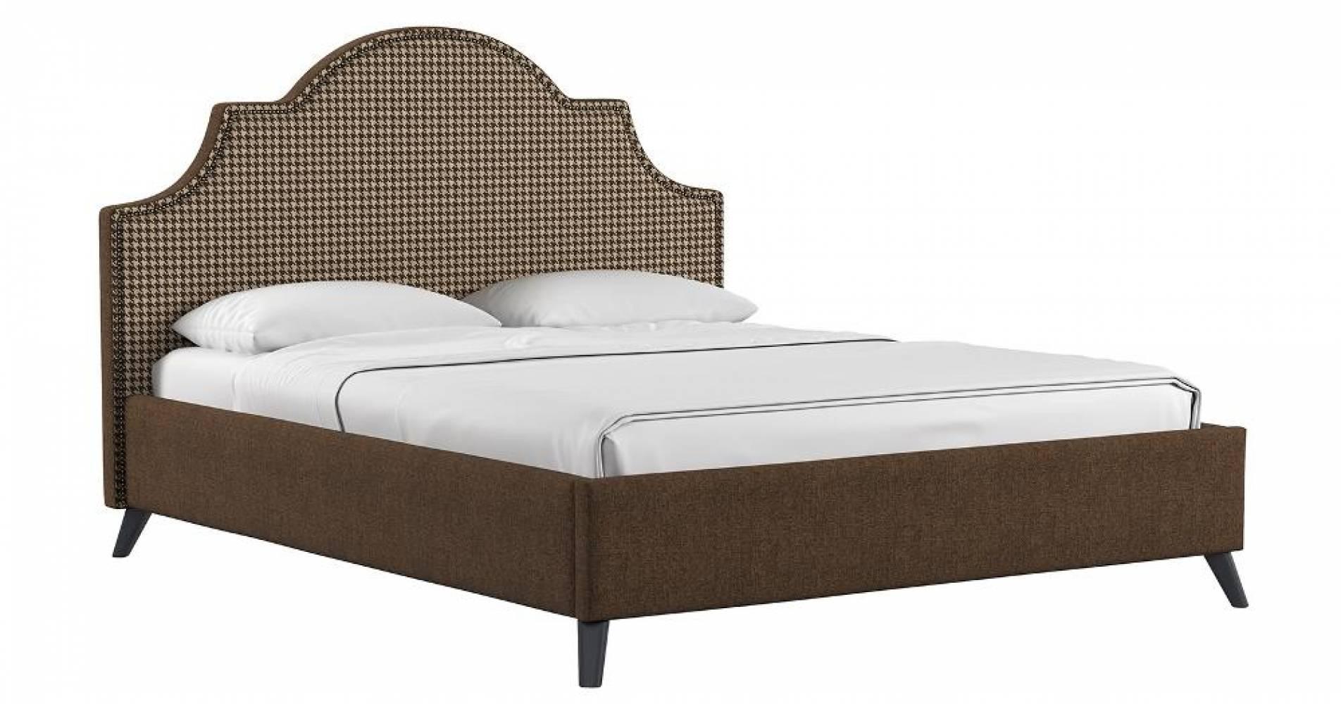 Кровать 1600 ФАИНА (коричневый) Нижегородмебель