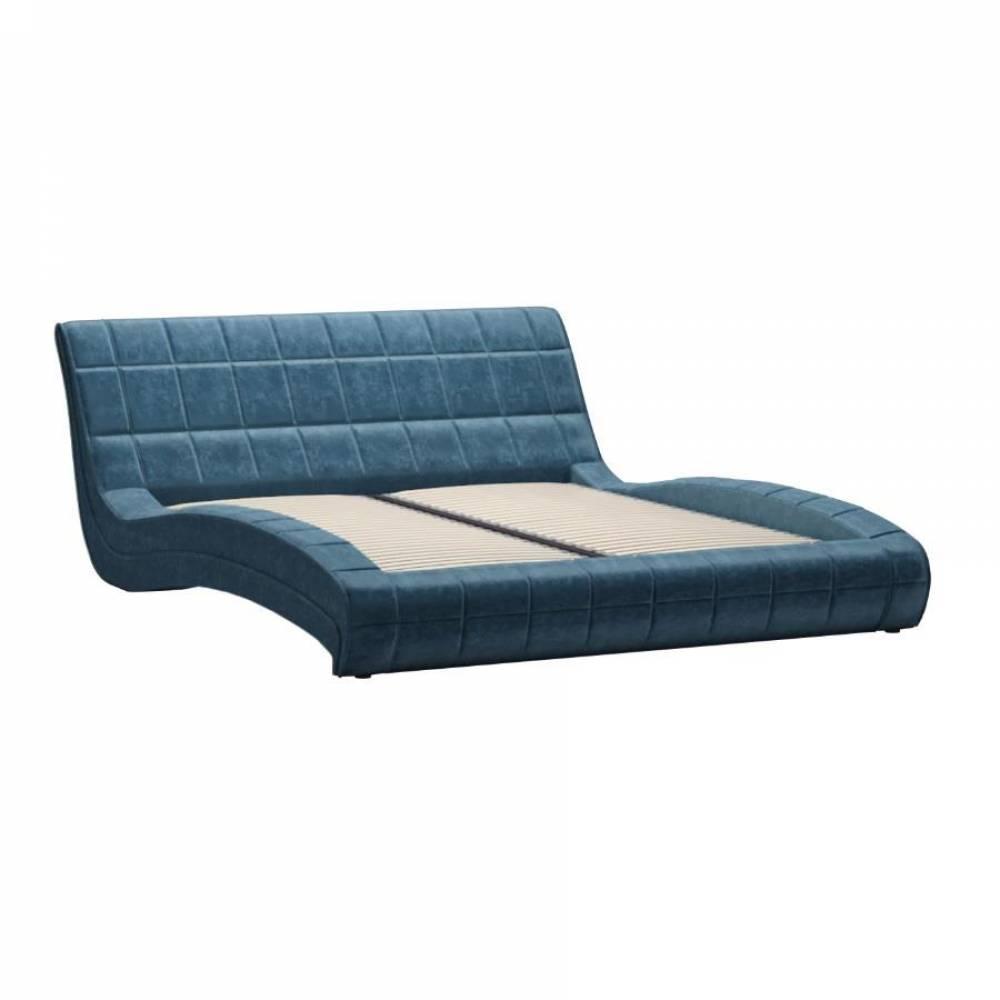 Кровать 1600 САЛЬМА (Дарлинг деним) Нижегородмебель