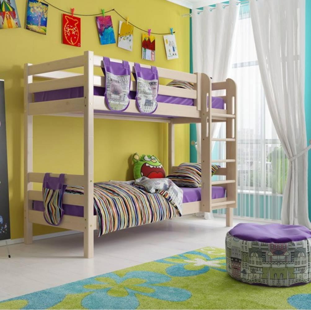 Штора на двухъярусную кровать Соня 9, 10 Мебельград