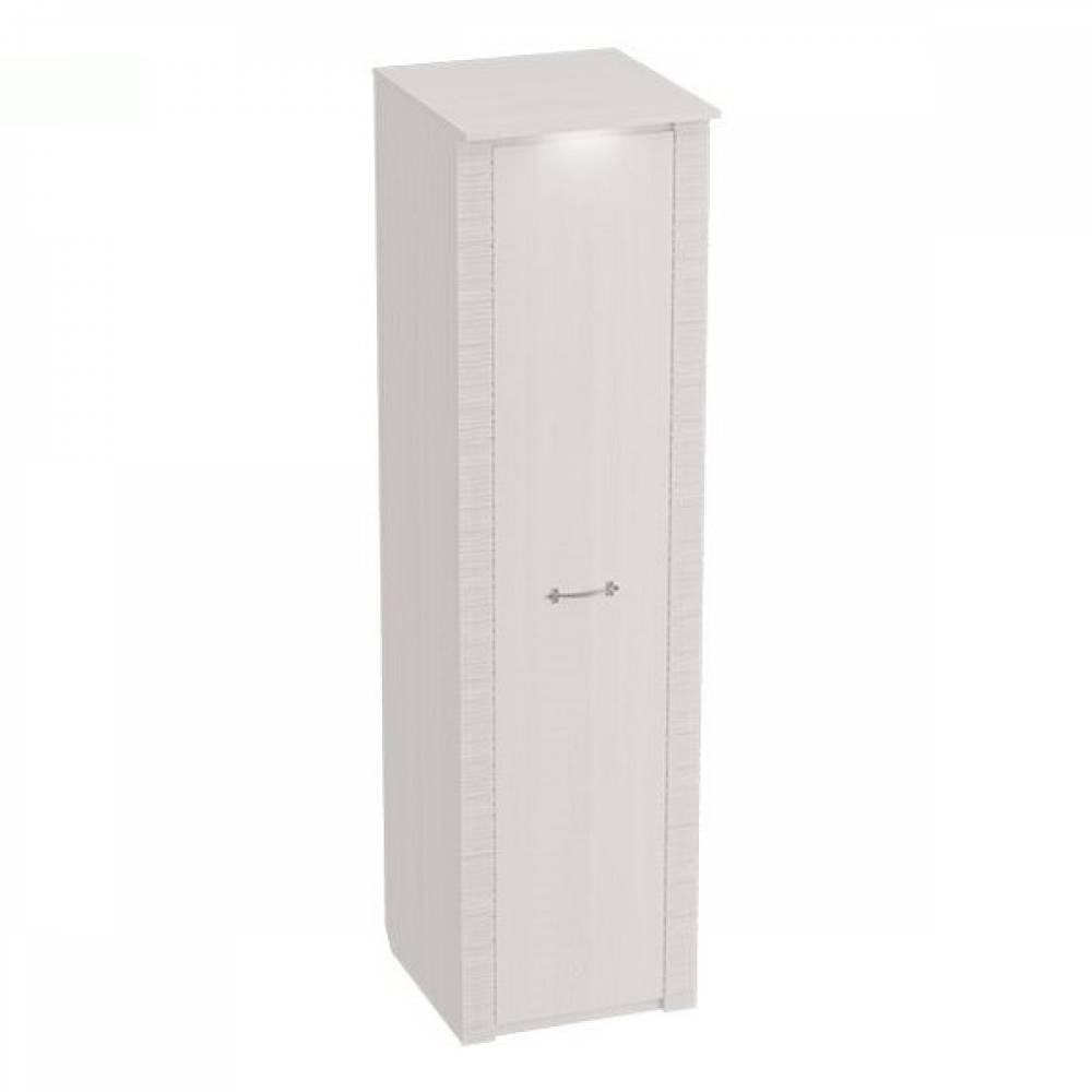 Шкаф 1-дверный 645 ЭЛАНА Бодега белая