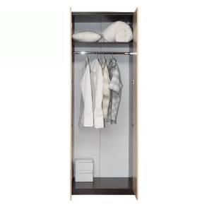 Корпус шкафа для одежды 06.14 РОЗАЛИЯ (Венге/Золотой ясень)