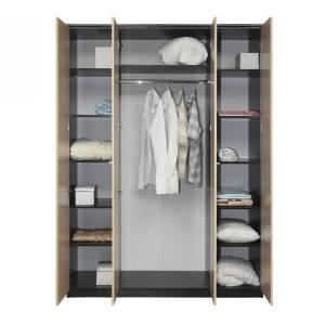 Корпус шкафа для одежды 06.39 РОЗАЛИЯ (Венге/Золотой ясень)