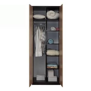 Корпус шкафа для одежды 06.55 РОЗАЛИЯ (Венге/Золотой ясень)