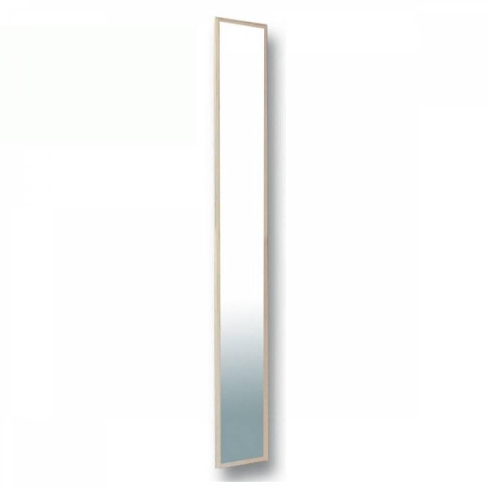 Дверь шкафа с зеркалом РОЗАЛИЯ (Вудлайн кремовый/Золотой ясень)