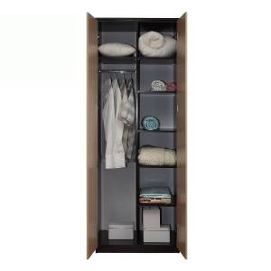 Корпус шкафа для одежды 06.55 РОЗАЛИЯ (Вудлайн кремовый/Золотой ясень)