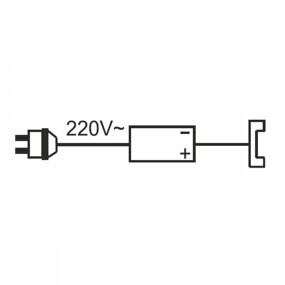 Комплект электроустановочный для мебельных светильников (07000000) Олмеко