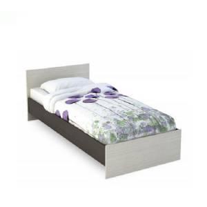 Кровать 800 КР-554 БАСЯ (Венге/Дуб Белфорд)