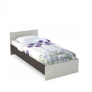 Кровать 900 КР-555 БАСЯ (Венге/Дуб Белфорд)