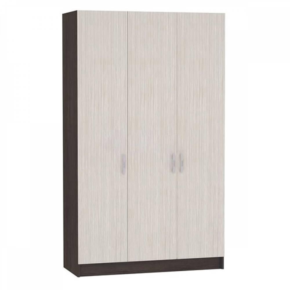 Шкаф 3-х створчатый ШК-554 БАСЯ (Венге/Дуб Белфорд)