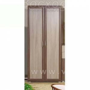 Шкаф 2-дверный ВК-4 ВИКА (Шимо темный/светлый) Восход