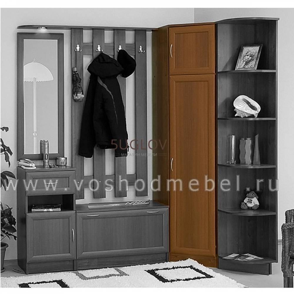 Шкаф угловой МР-60 МАШЕНЬКА МДФ (Донской Орех)
