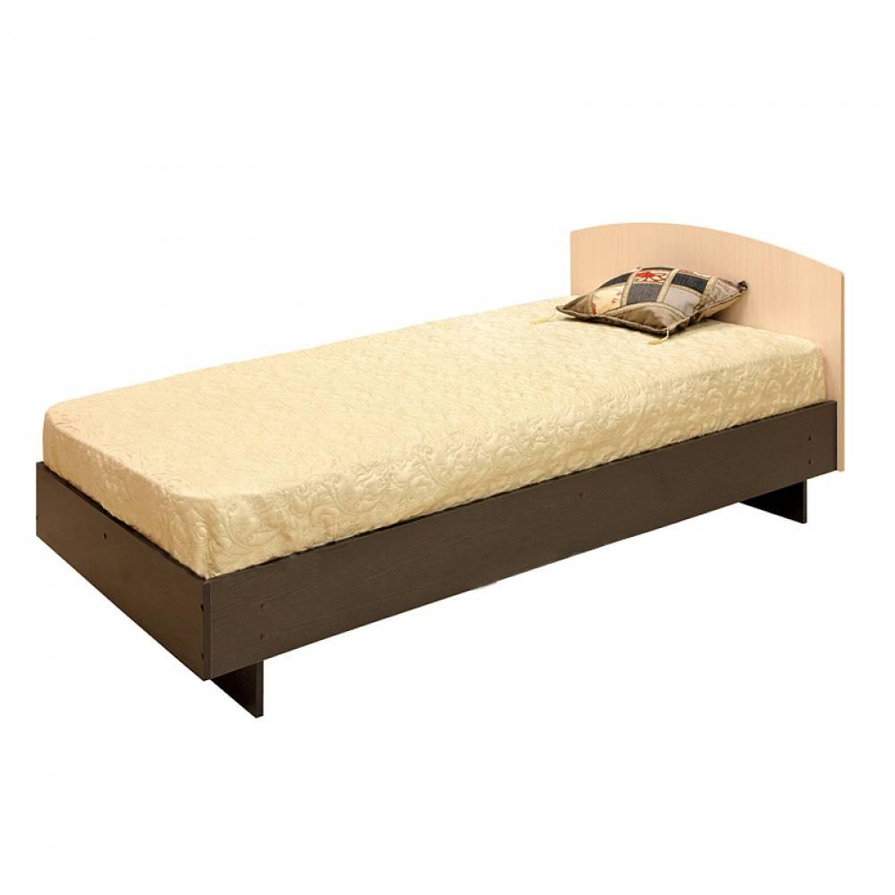 Кровать 900 К-0,9 (настил) СВЕТЛАНА МДФ