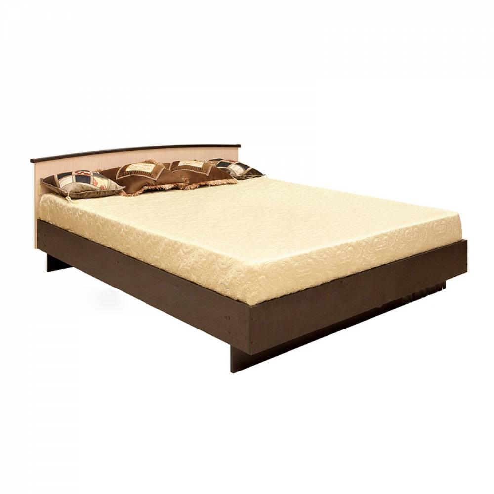Кровать 1600 КСП-1,6 (настил) СВЕТЛАНА МДФ