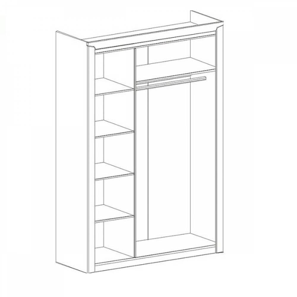 Шкаф 3-дверный СОРЕНТО (Дуб бонифаций)