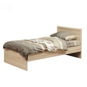 Кровать 900 одинарная с настилом 21.55 ФРИЗ (Дуб Сонома)