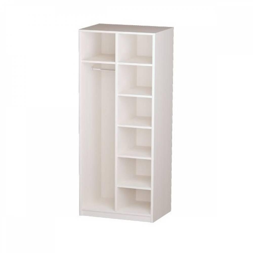 Корпус шкафа для одежды 06.55 ГАБРИЭЛЛА (Вудлайн кремовый/Сандал белый)