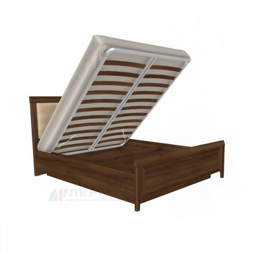 Кровать 1600 с мягким изголовьем КР-1033 КАРИНА