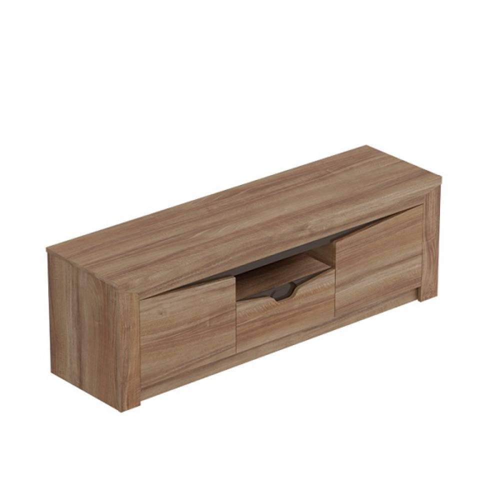 Тумба для ТВ с 2-мя дверцами и ящиком  СОРЕНТО (Дуб стирлинг)