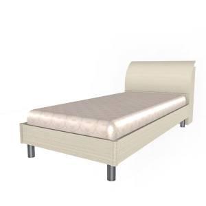 Кровать 900 КР-108 КСЮША (Дуб Беленый)
