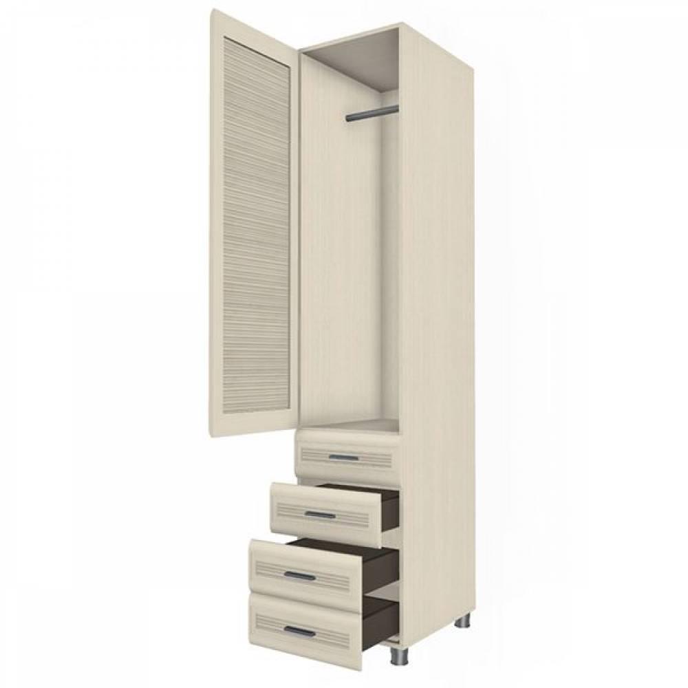 Шкаф многоцелевой ШК-1844 КСЮША (Дуб Беленый)