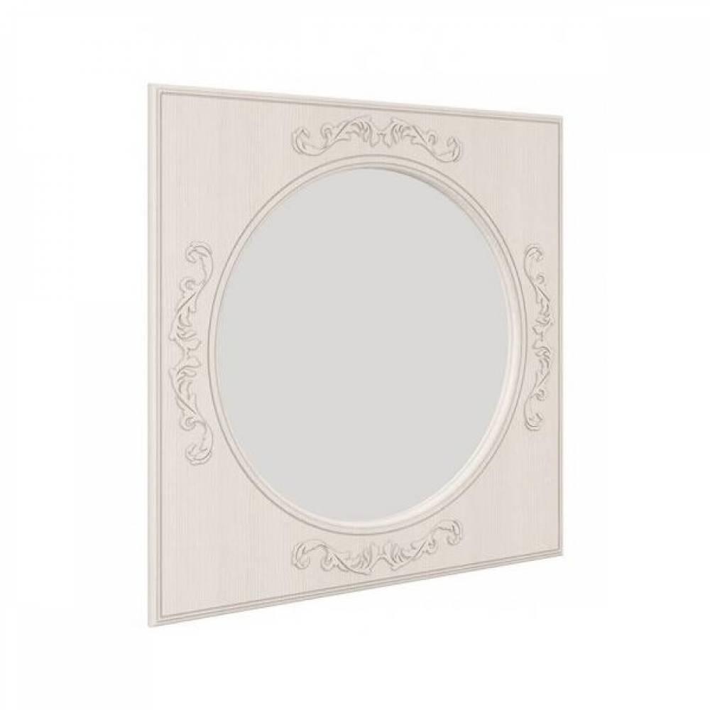 Зеркало навесное КАРОЛИНА (Вудлайн кремовый/Сандал белый)