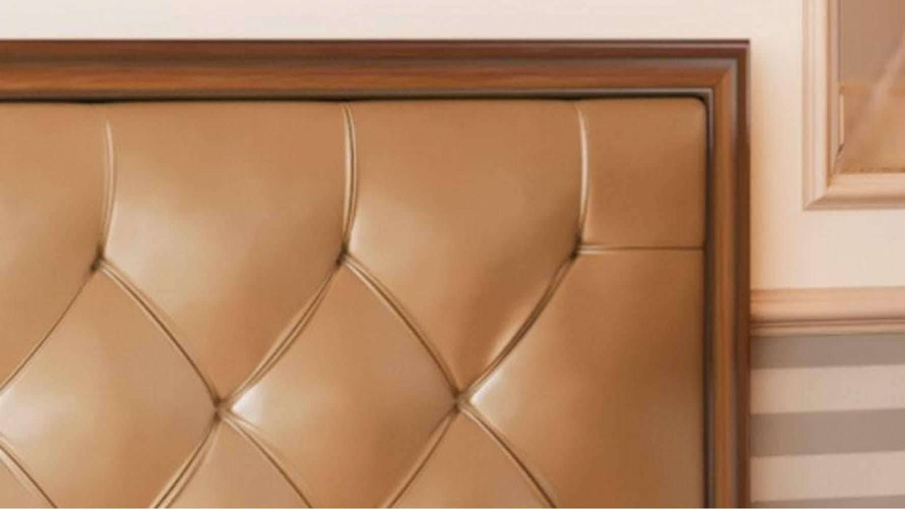 Кровать двойная 1600 с откидным механизмом ГАБРИЭЛЛА (Дуб кальяри/Дуб коньяк)