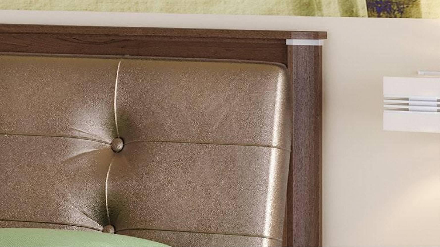 Кровать двойная 1600 с откидным механизмом МОНИКА (Дуб кальяри)