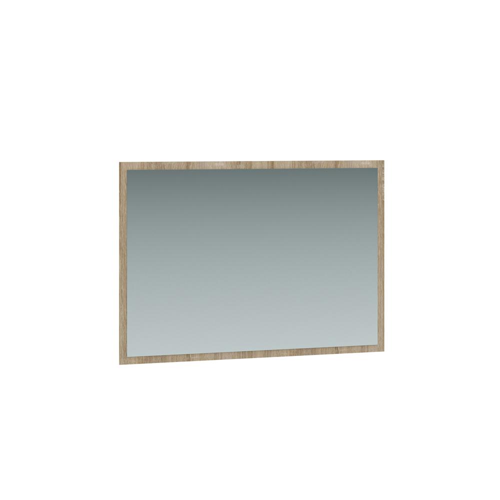 Зеркало навесное 307/02 ЛИНДА (Дуб Сонома/Белый)