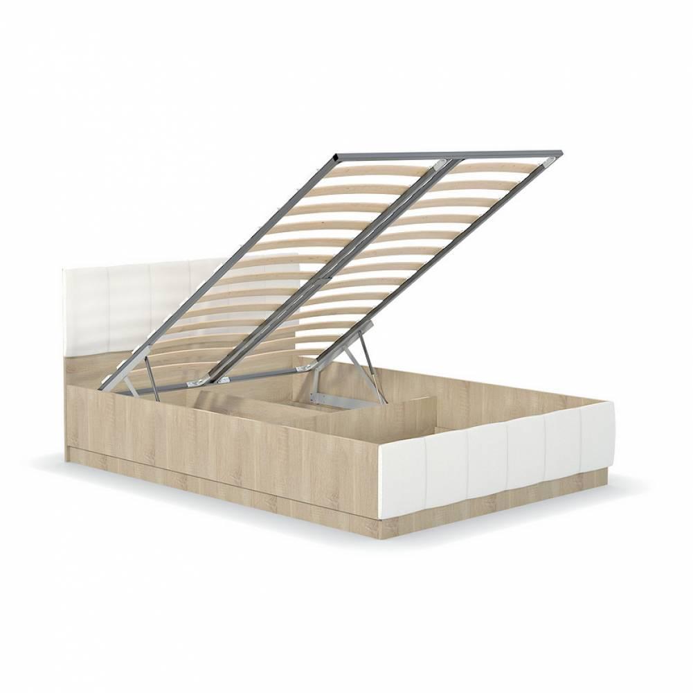 Механизм подъема основания  для кровати 1400 ЛИНДА (Дуб Сонома/Белый)