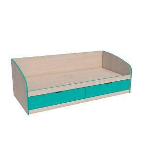 Кровать 900 НМ 008.63 РИКО (Аква)