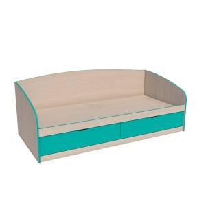 Кровать 800 НМ 008.63-01 РИКО (Аква)