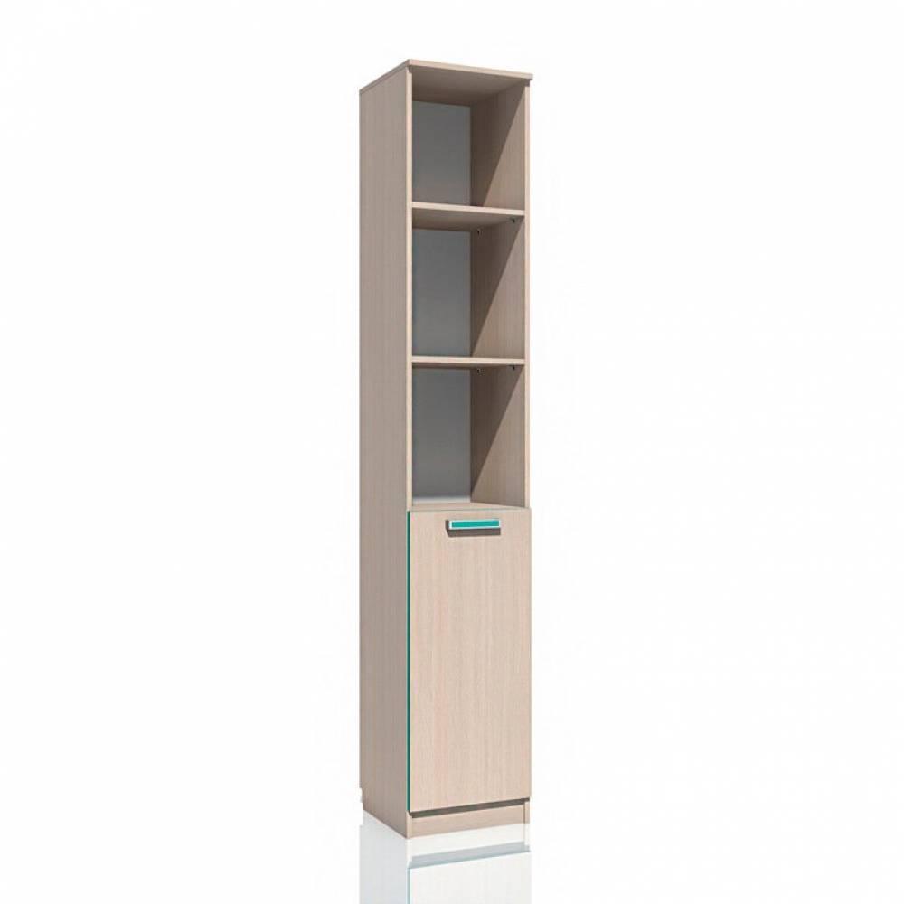 Шкаф для книг НМ 013.03-01 РИКО (Аква)
